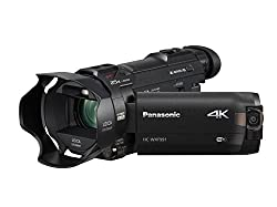 commercial Panasonic 4K Cinema-Like Camcorder HC-WXF991K Camcorder, 20x Leica DICOMAR Lens, 1 / 2.3 inch BSI… high 8 camcorder