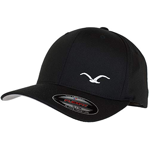 Cleptomanicx Flex Flexfit Cap (S-M, black)