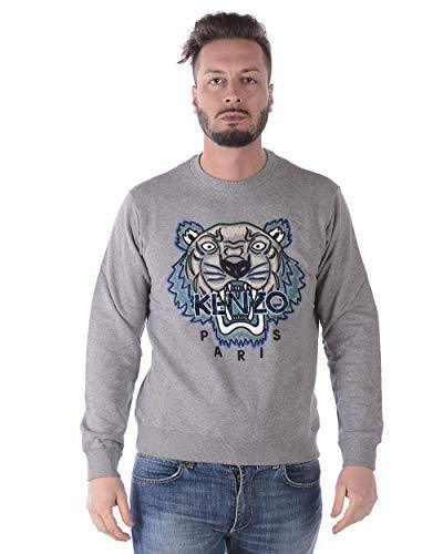 Kenzo - MAN Sweatshirt 4XG5SW088 Grigio Tiger Sweatshirt M