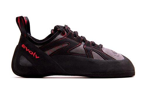 Evolv Nighthawk Climbing Shoe - Men's Gray/Black 10.5