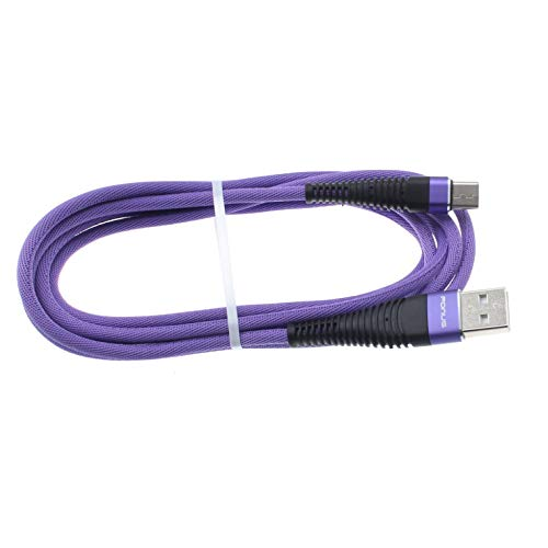 10ft USB Cable Purple Type-C Charger Cord for Galaxy Tab S6 Lite 10.4 - Power Wire USB-C Long Braided Fast Charge Sync Compatible with Samsung Galaxy Tab S6 Lite 10.4