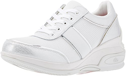 Fornarina Daily, Zapatillas para Mujer, Bianco (Bianco), 40 EU