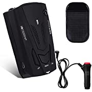 Radar Detector, Voice Alert & Car Speed Alarm System with 360 Degree Detection, City/Highway Mode