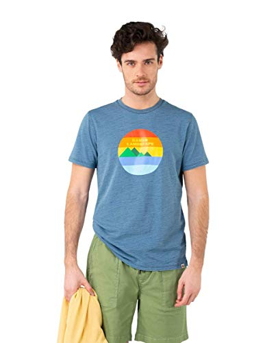 El Ganso Camiseta Indigo Estampada