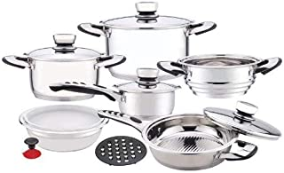 Chef's Secret KT12 Waterless Stainless Steel Cookware Set