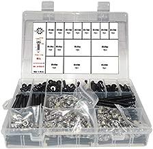 Low Profile Screws M5 6mm-65mm Set A Perfect Box has The vast Majority of Lengths Including M5 locknut 345pcs