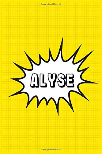 Alyse: Personalized Name Alyse Notebook, Gift for Alyse, Diary Gift Idea