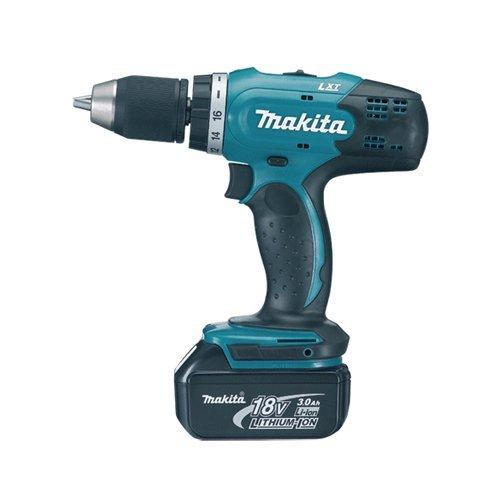 MAKITA DDF453RFE DDF453RFE-Taladro Atornillador, 18 V, Negro, Azul