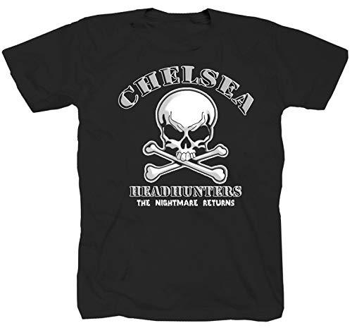Chelsea Headhunters Logo schwarz T-Shirt (M)