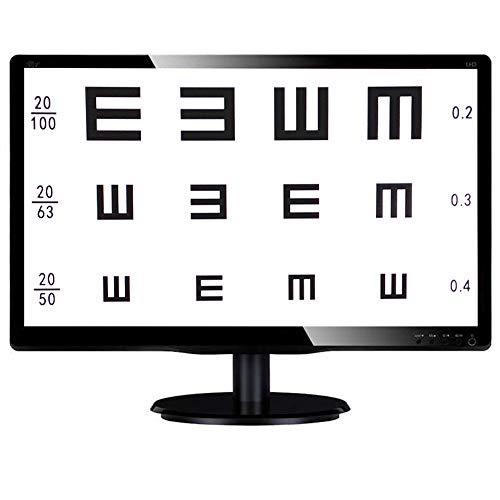 Huanyu LCD óptico de 19 pulgadas Gráfico de agudeza visual digital Gráficos oculares Optometría Probador Probador