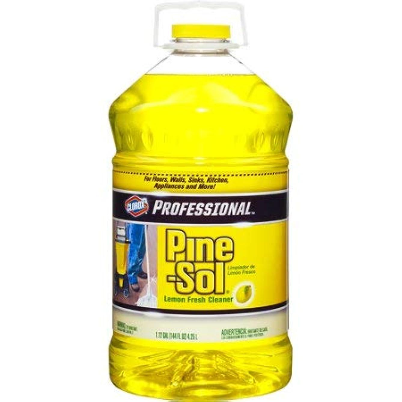 Pine-Sol Professional Multi-Surface Cleaner, Lemon Fresh, 144 oz (1 Pack)