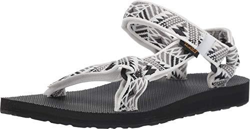 Teva Women's W Original Universal Sandal, boomerang white/grey, 9 Medium US
