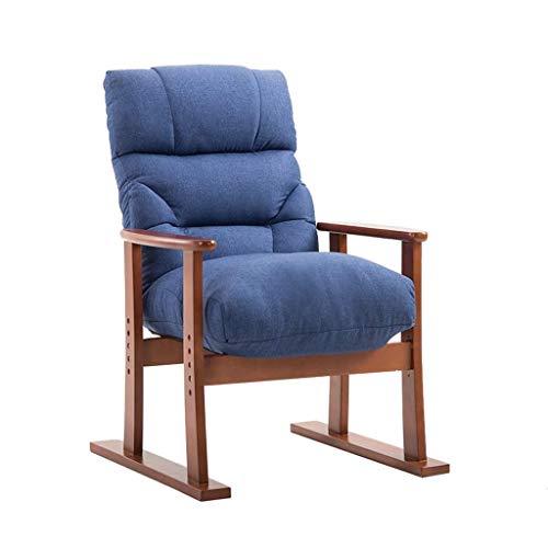 WYJW Klapsofa fauteuil lounge stoel Gestoffeerde fauteuil Faules Sofa Vrijetijd Verstelbare ligstoel Eetkamerstoel Tuinstoel Zonneligstoel Bijzetstoel Gastenstoel Schminktafel Comp
