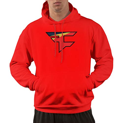 XY Shop Faze 2 Men's Long Sleeve Hoodie Casual Pullover Hoodie Sweatshirt with Pockets