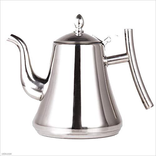 Bouilloire en acier inoxydable, bouilloire, pot, cafetière, théière lavable (taille : 1L)