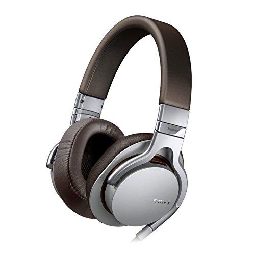 Sony MDR-1R - Auriculares de diadema cerrados, color marrón/gris