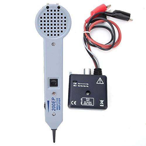Probador de Cable, Generador de Tonos Buscador de Líneas Rastreador de Cables Detector de Línea de Red LAN Ethernet para Cable Telefónico Multifunción
