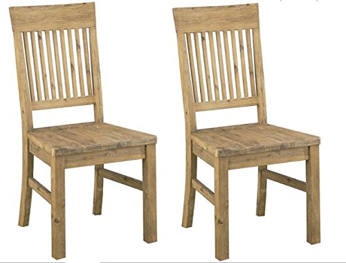 Modus Furniture Autumn Solid Wood Dining Chair, 2-Pack
