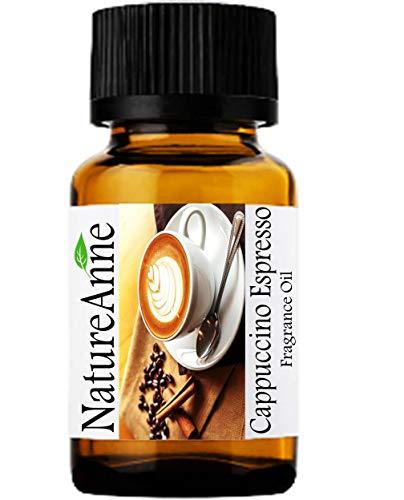Cappuccino Espresso Premium Grade Fragrance Oil - 10ml - Scented Oil - for Diffuser Oils, Making Soap, Candles, Lotion, Home Scents, Linen Spray, Lotion, Perfume, Beard Oil,