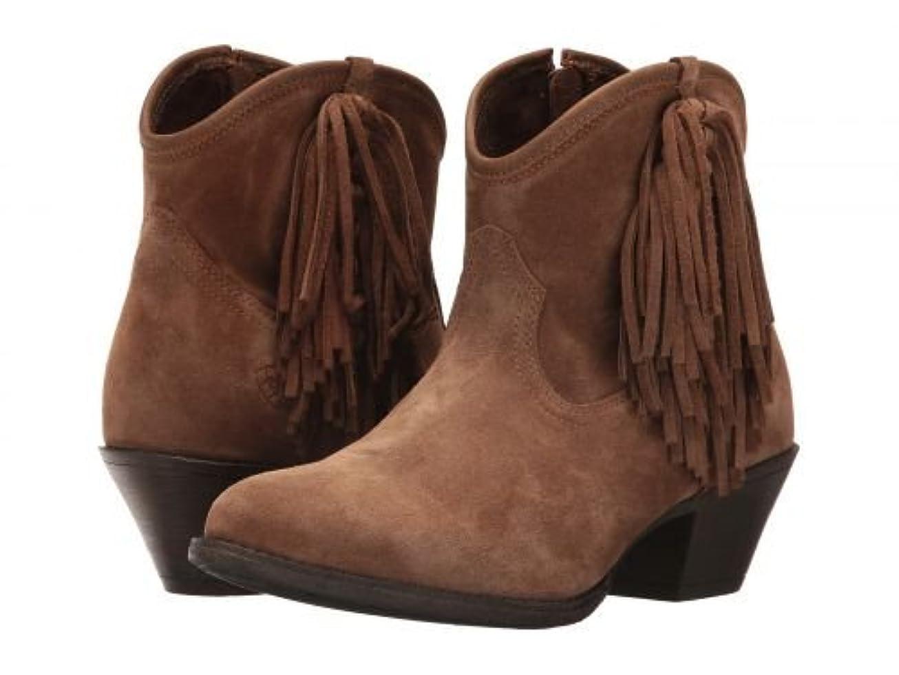 城トランペット動かないAriat(アリアト) レディース 女性用 シューズ 靴 ブーツ アンクルブーツ ショート Duchess - Dirty Tan Suede [並行輸入品]