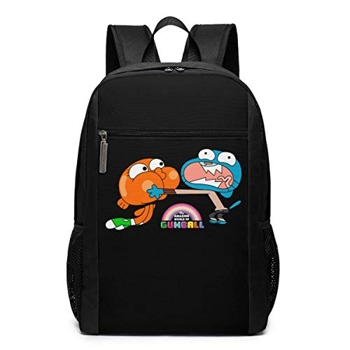 Zaino da viaggio da viaggio, The Amazing World Of Gumball Brother Backpacks Travel School Large Bags Shoulder Laptop Bag For Men Women Kids