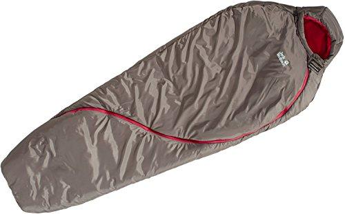 Jack Wolfskin Damen Smoozip -7 Women Damenschlafsack, siltstone, Standard