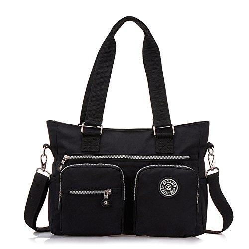 Outreo Sacchetto Donna Borse Mare Borsa Tracolla Borse a Spalla Ragazza Messenger Bag Sport Borsetta Griffate Borsello Impermeabile per Scuola Nylon