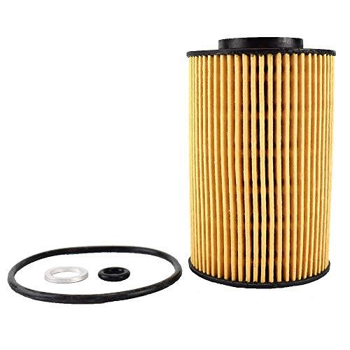 ZhengELE Filtro de Aceite 10pcs 26320-3C250 for Hyundai i20 i30 PB GD ix20 JC Kia CEE'D JD Río UB Venga SN 2012 2013 2014 2015 1.4L