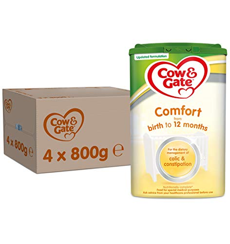 Cow & Gate Comfort Formula 800 g (Pack of 4)