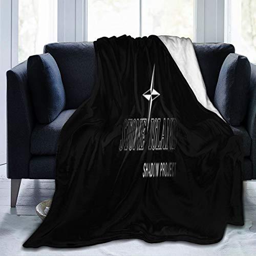 Cómoda manta cálida, manta de sofá Stone Island 204x153 cm