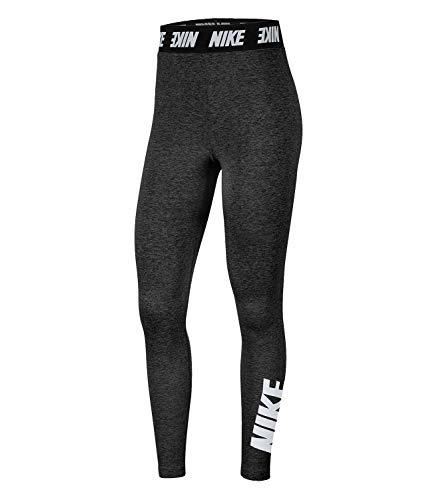 Nike Damen Leggings mit hohem Bund Sportswear Club, Black/White, M, CT5333-010