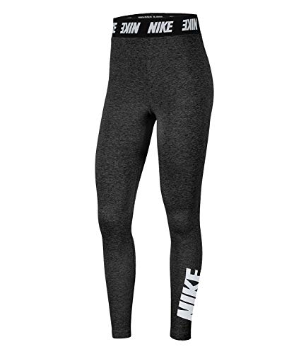 Nike Sportswear Club, Leggings A Vita Alta Donna, Multicolore (Nero/Bianco), S (IT 40-42)
