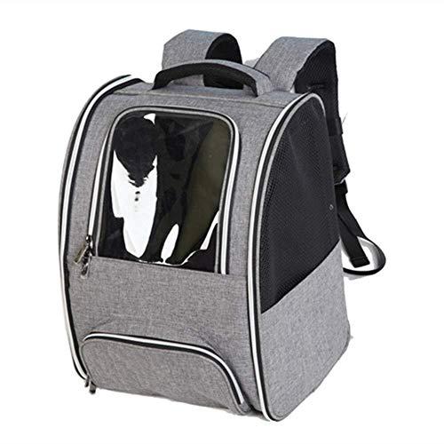 ZHHk Cama de Perro zhhhk Mascota Bolsa De Espacio Transparente Luz Transpirable Mochila For Mascotas Viaje Portátil Al Aire Libre Bolso For Animales Pequeños Cajas For Mascotas Suministros