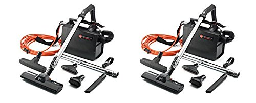 Hoover CH30000 PortaPower Lightweight Commercial Canister Vacuum (Pack of 2)