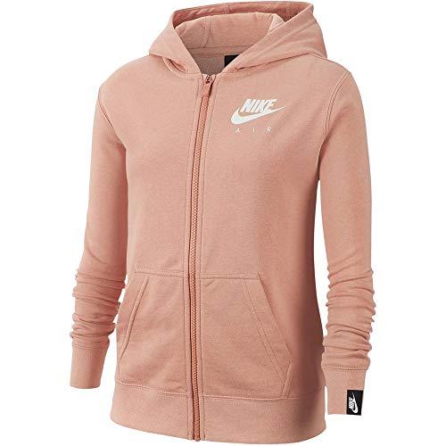 Nike Kinder Full Zip Hoodie NSW Air, Navy/Grey, S