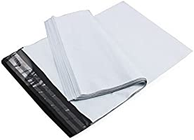 bvslf 100 pack of Economy Polybag 12x14 (12 x 14 inches) with Document Pouch POD Jacket, Courier...