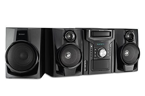 Sharp CD-BHS1050 350W 5-Disc Mini Shelf Speaker/Subwoofer