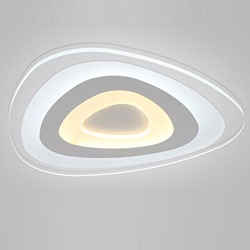 LightInTheBox Lámpara de techo de 24 W con montaje empotrado, luz LED moderna/contemporánea, para salón/dormitorio/comedor/cocina
