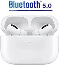 Upgraded Bluetooth headset, IPX7 waterproof, 3D stereo, pop-up window with automatic matching function of charging box, suitable for Android/iPhone/Apple Airpods Pro/Samsung