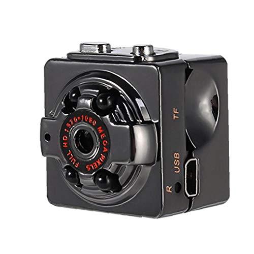 Sq8 Wireless Dv Camera Mini Pocket Camera Home Security Surveillance Camera for Outdoor Sports Dv Home Office Black