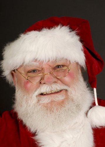 Lunettes demi-lune de Noël père Noël