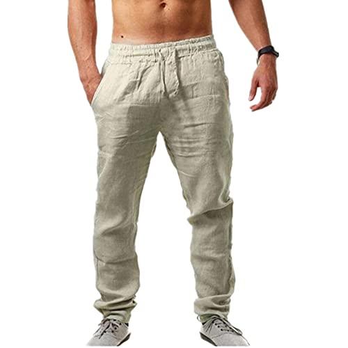 N\P Joggers Pantalones de deporte de los hombres Pantalones de color sólido Pantalones de deporte de entrenamiento Gimnasios Ropa deportiva