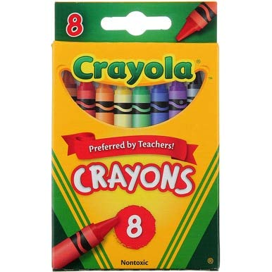 Crayola 8ct Triangular Crayons (4 Pack)