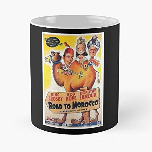 Director Film Road Morcco Cinema Dvd To Vhs Ray Blu Movie Best Mug holds hand 11oz made from White marble ceramic
