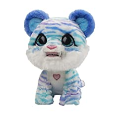THIS CHILLY PREHISTORIC KITTY NEEDS YOUR LOVE AND CARE to feel warm and stop her sh-sh-shivering 35+ SOUND-&-MOTION COMBOS: furReal North the Sabertooth Kitty animatronic toy shivers, ch-ch-chatters her teeth and makes adorable sounds as she starts t...
