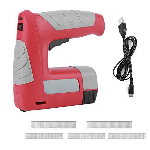 Nicker, mini-accu-nietmachine, oplaadbare 4,2 V-nietmachine, boorgereedschap voor de reparatie van huishoudelijke materialen voor kussens, doe-het-zelfreparatie, timmerwerk, decoratie