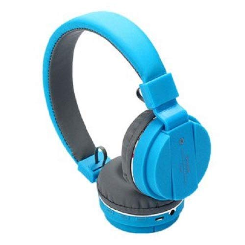 Teconica SDC478 SH12 Sports Wireless Deep bass Bluetooth Headphone with FM/SD Card Slot with Music and Calling Control with All Smart Phone (Multi Colour)