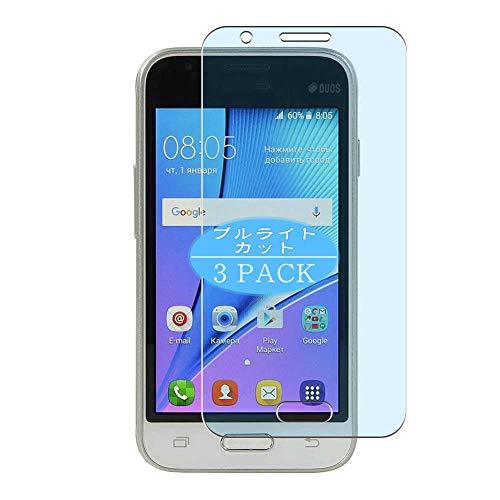 Vaxson 3 Unidades Protector de Pantalla Anti Luz Azul, compatible con Samsung Galaxy J1 Nxt [No Vidrio Templado] TPU Película Protectora