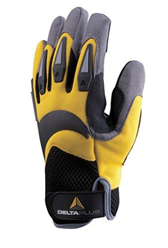 Delta Plus – Kit gaine en polyester et spandex am/noir Taille 11 1 Paire