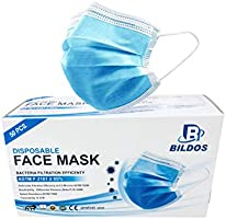 Bildos 3 Ply CEISO  GMP Certified Face Mask with Nose pin a